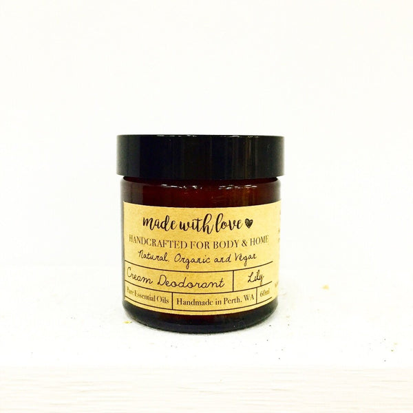 Natural Deodorant 'Lily' 60ml
