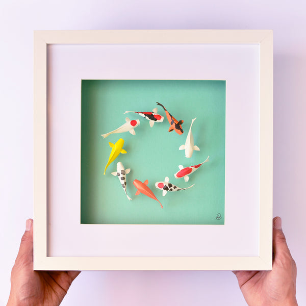 Paper Koi - Colourful Ring