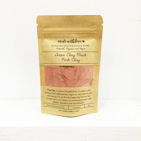 Detox Clay Mask 'Pink Clay' 50g