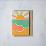 Sunset - Plantable Card