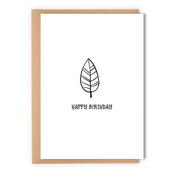 Birthday Leaf