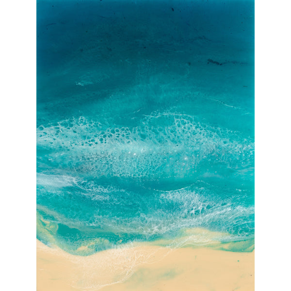 Resin Art Print - South Beach