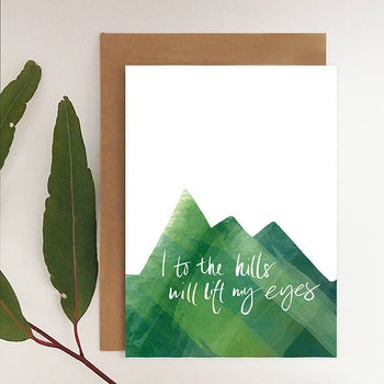 I to the Hills Card