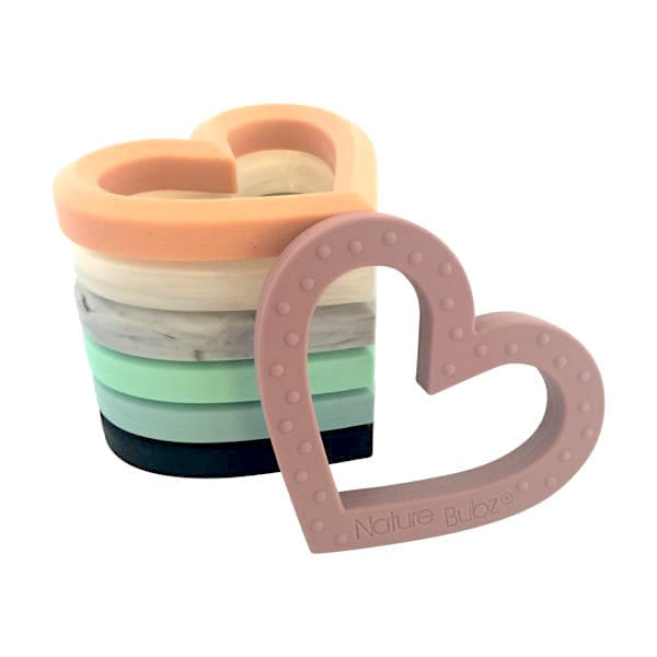Silicone Heart Teether