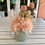 Mini Cup Arrangement - Peach
