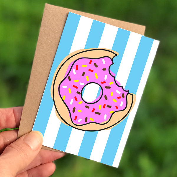 Donut Mini Card