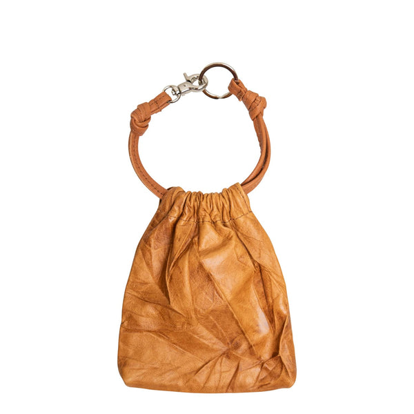Drawstring Coin Purse Crushed