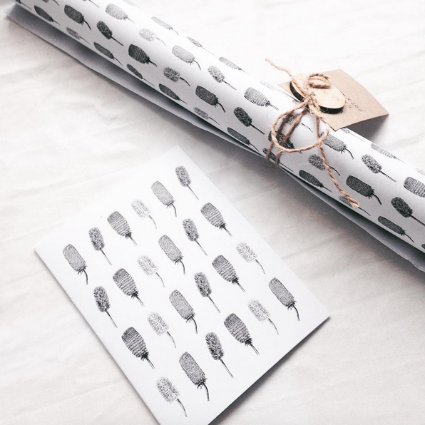 Banksia Wrapping Paper