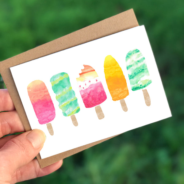 Popsicle Mini Card