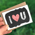 IHeartU Mini Card
