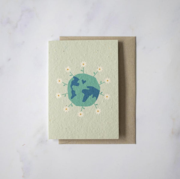 Planet Love - Plantable card