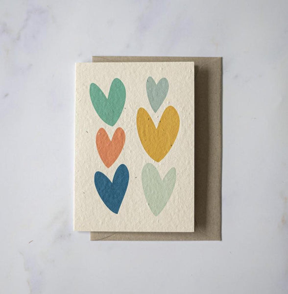 Lovehearts - Plantable Card