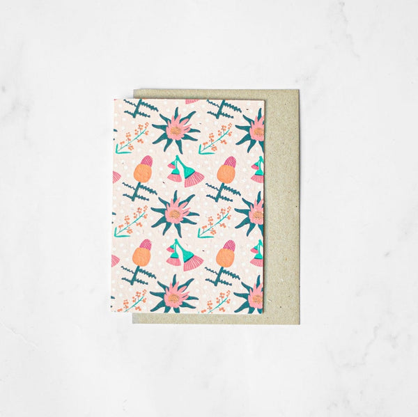 Native Florals - Plantable Card