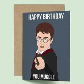 Harry Potter, Happy Birthday You Muggle