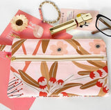 Double Zipper Wristlet