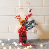 Vase Arrangements (Mini-Small): Spectacular Red