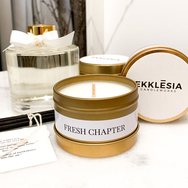 Fresh Chapter Soy Candle Travel Tin
