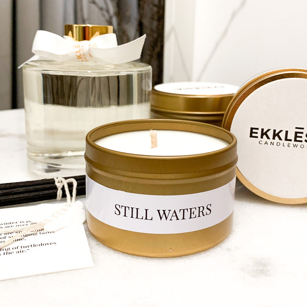 Still Waters Soy Candle Travel Tin