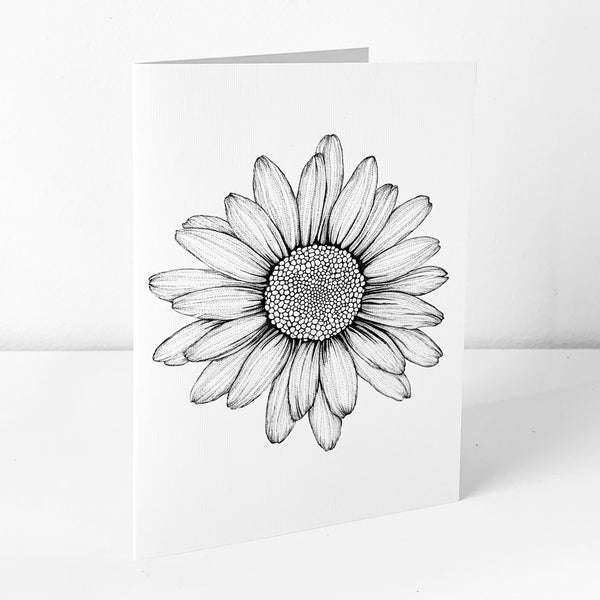Daisy Art Card