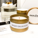 Sweet Encounter Soy Candle Travel Tin