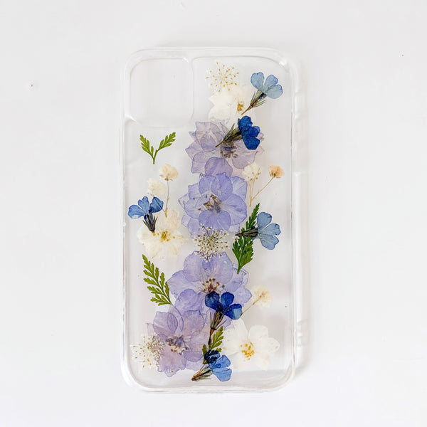 Middle Purple Flower Phone Case