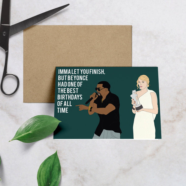 Kanye, Best Birthday Card