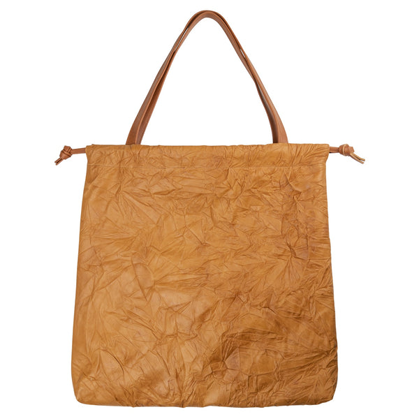 Large Drawstring Tote Crushed