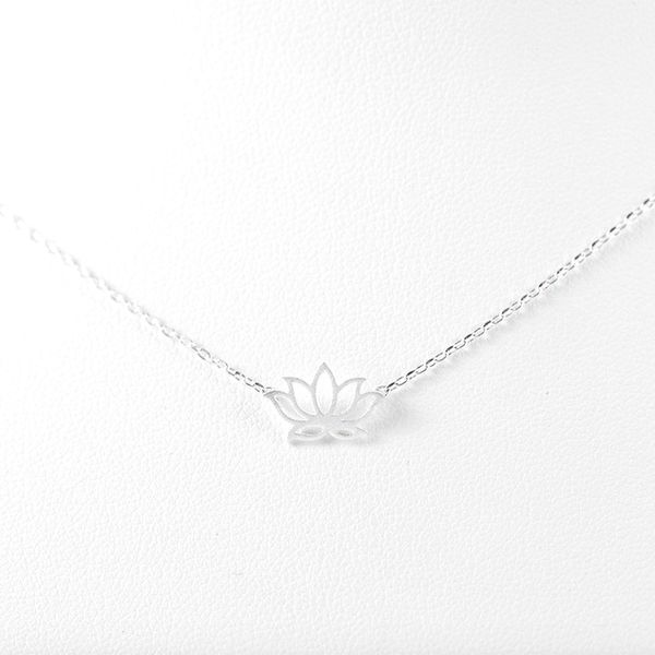 Lotus Pendant Necklace