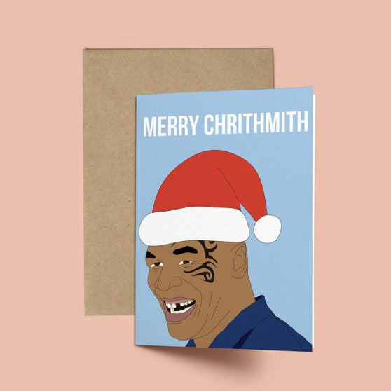 Mike Tyson, Chrismith Card