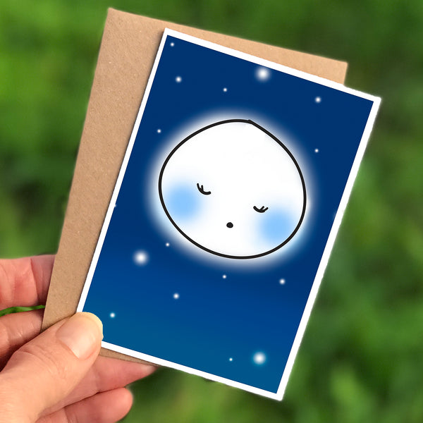 Moon Mini Card
