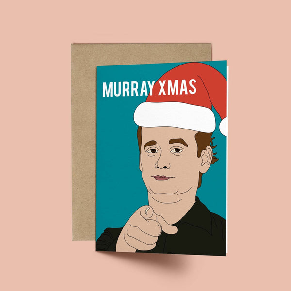Billy Murray, Murry Xmas Card