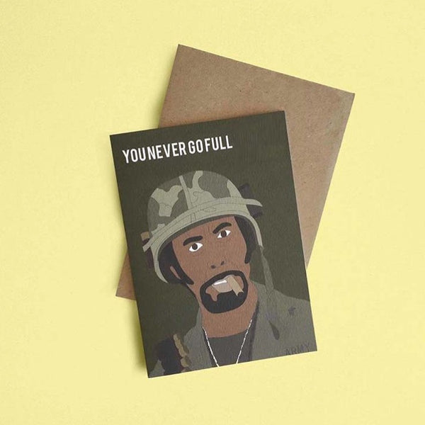 Tropic Thunder, Full Retard Card