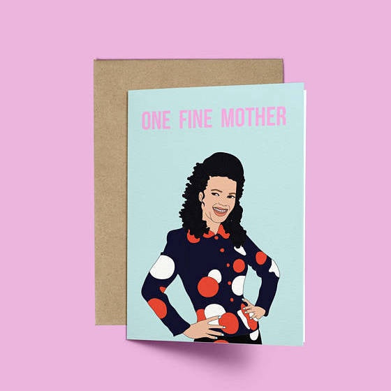 Nanny, One Fine Card
