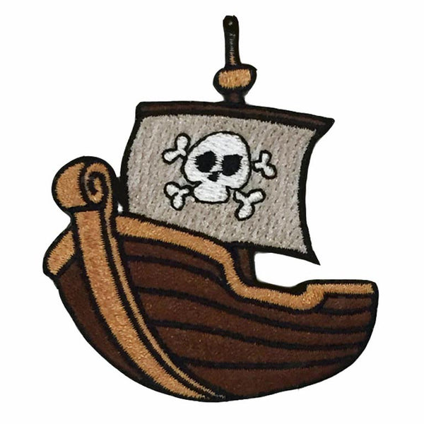 Patch - Pirate Boat