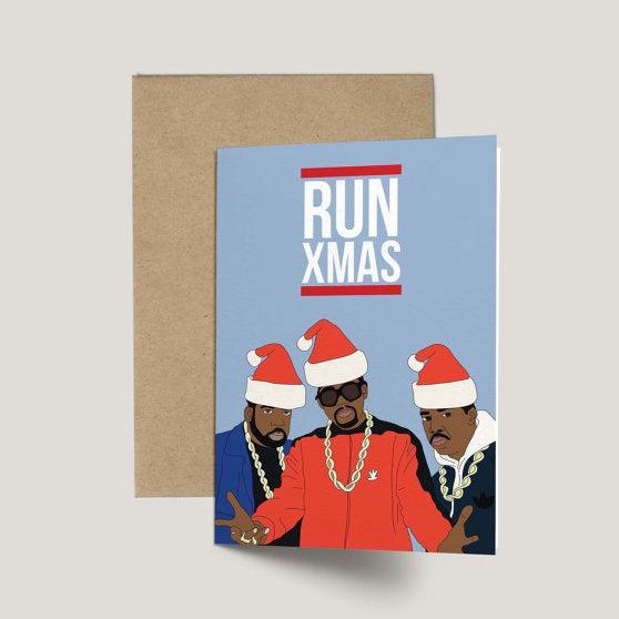 RUN DMC, Run Xmas Card