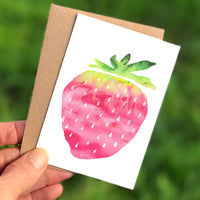 Strawberry Mini Card
