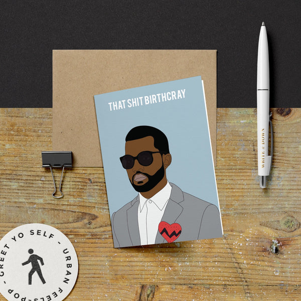 Kanye, Birthcray Card
