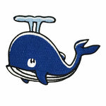 Patch - Whale (Blue)