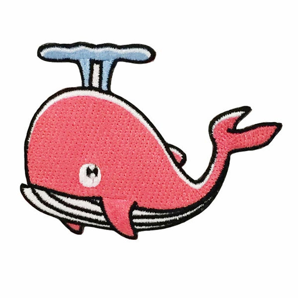 Patch - Whale (Pink)