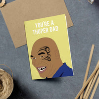 Mike Tyson, Super Dad Card
