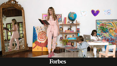 Ten Beautifully Designed Spaces That Show You Can Homeschool Anywhere @ Forbes Magazine.