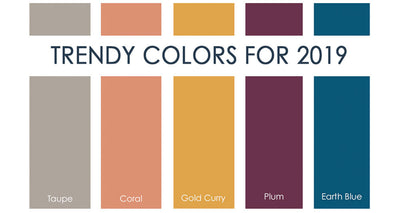 Trendy Colors for 2019