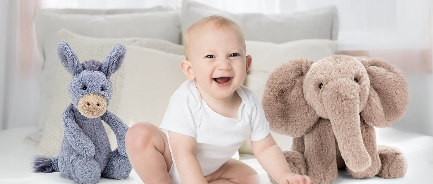 Soft, Cozy Stuffed Animals for your Little One