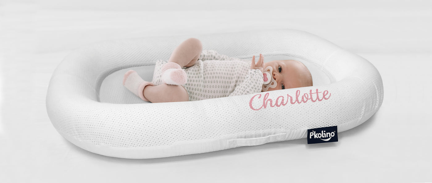 P'kolino Nuzzle - The Only Truly Breathable Baby Lounger with Airatex Air-flow Technology