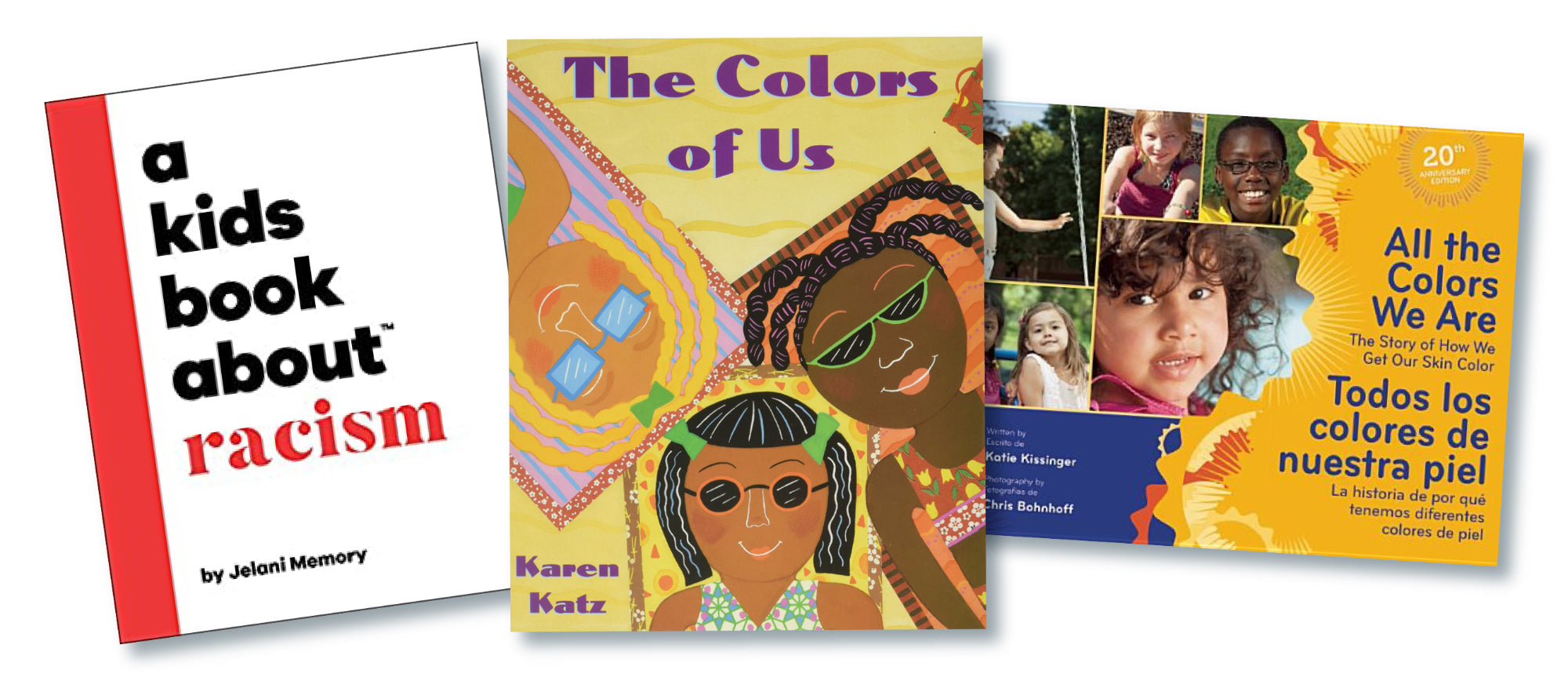 3 books for children about race