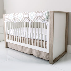P'kolino Grigio Convertible Crib - Artfully made in Europe.