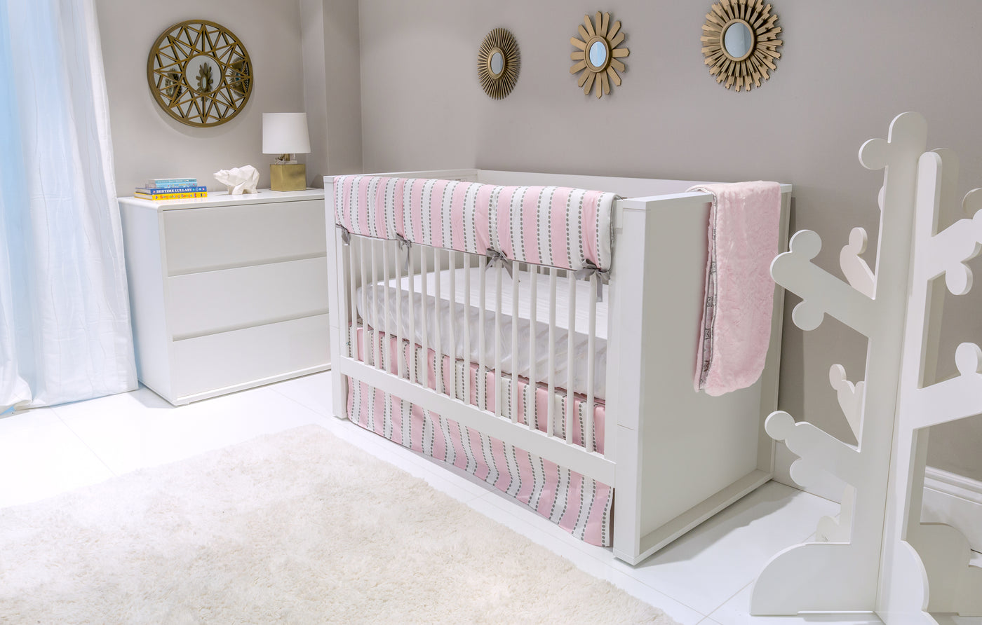 Bianco Convertible Crib - Made in Europe