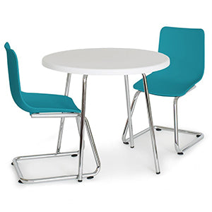 Modern Round Table and Chairs User Manual