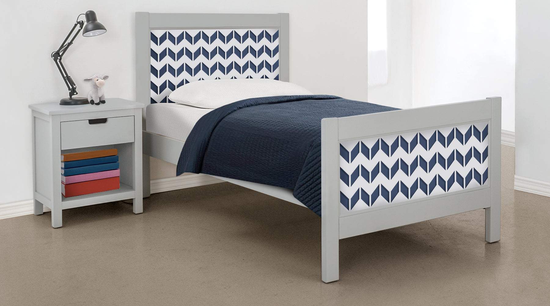 P'kolino Nesto Collection - Fully customizable twin beds and bunk beds. Beautifully designed with safety in mind.