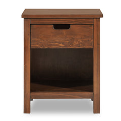 Nesto Side Table - Mahogany